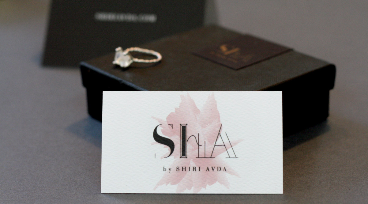 ShA Business Card and Package