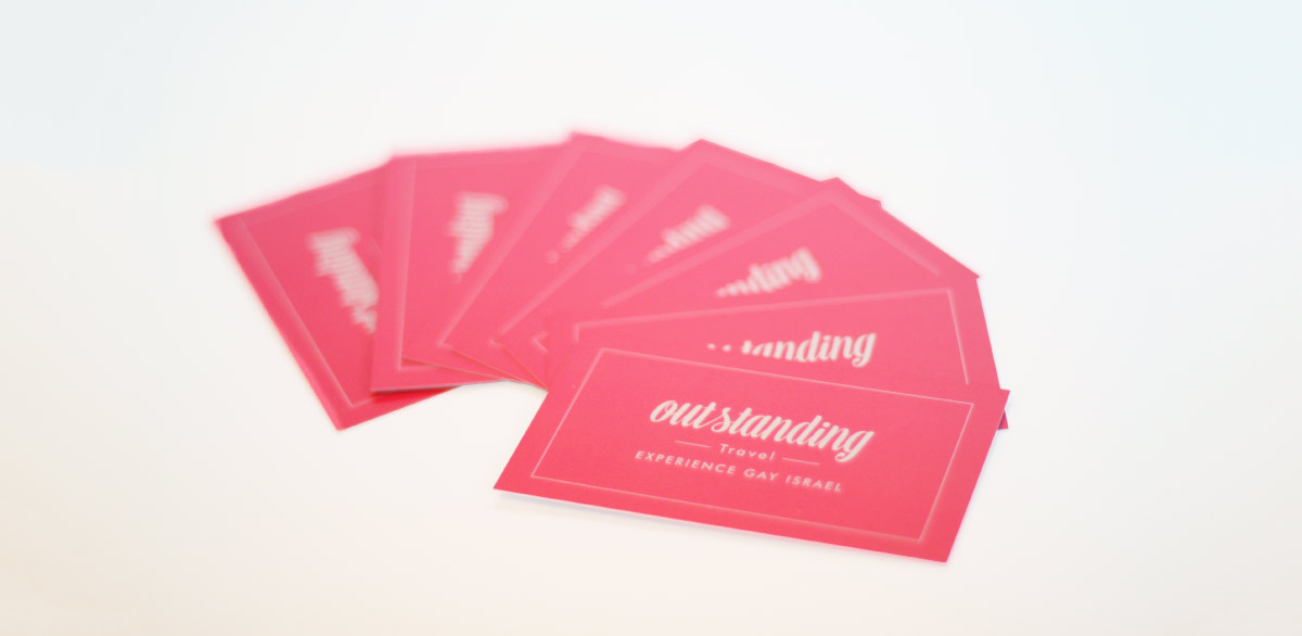OUTstanding Travel Business Cards