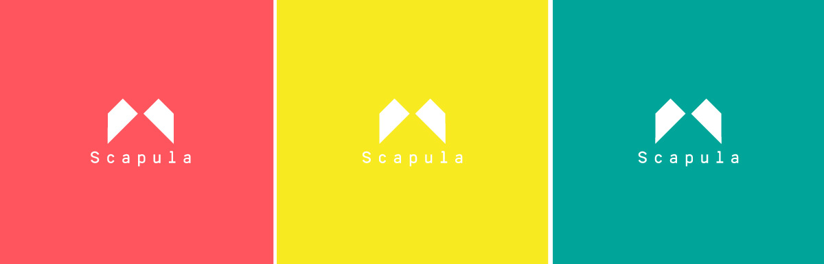 Scapula logo color pallette
